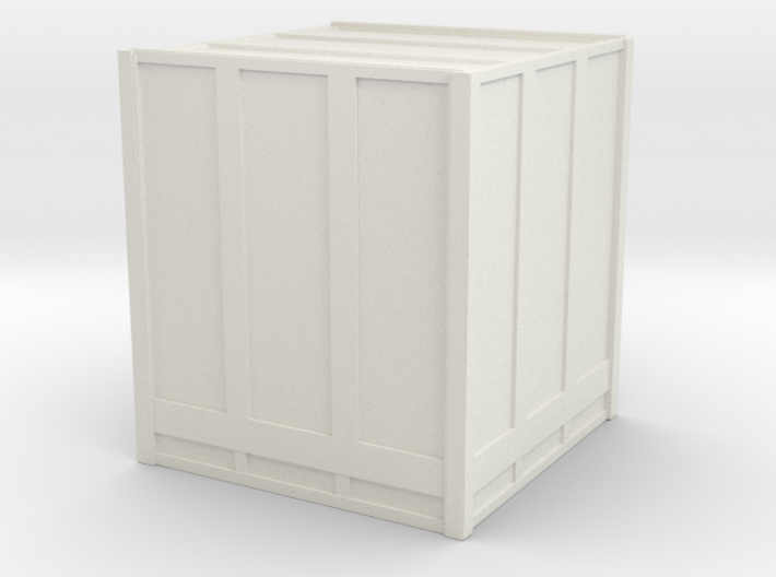 Large Shipping Crate 1/56 3d printed