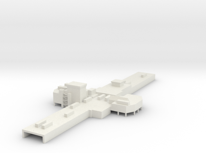 ATL Terminal A Center 1:400 Scale 3d printed