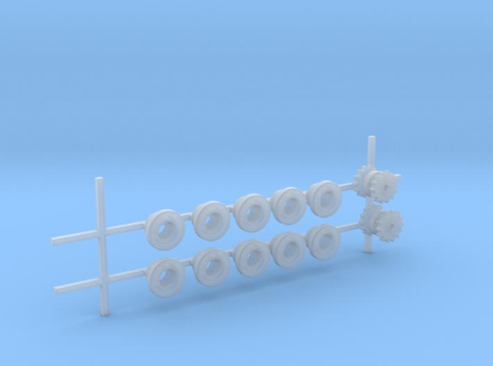 Laufrollen und Antriebsräder 3d printed