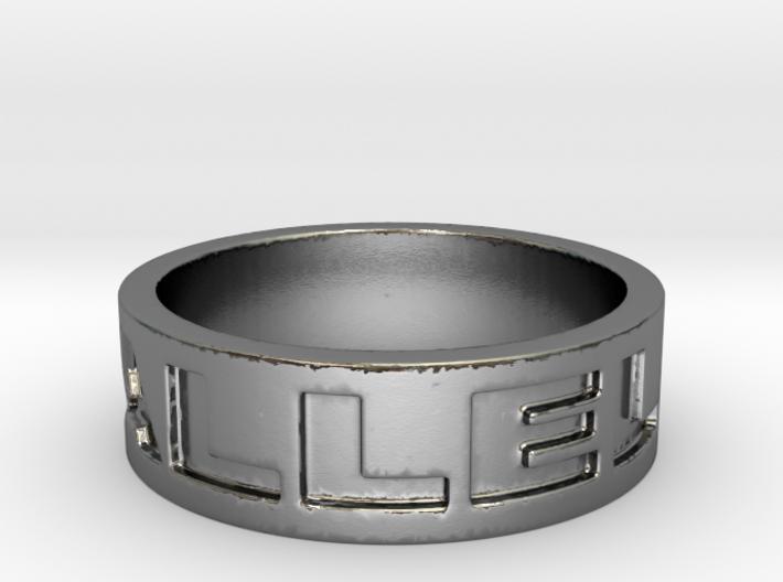 19 HALLELUJAH RING  Ring Size 7 3d printed