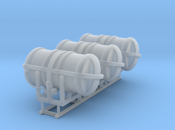 Viking liferaft container - 1:50 - 3x 3d printed