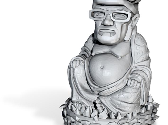 HeisenBuddha aka Heisenberg Buddha detail plastic 3d printed