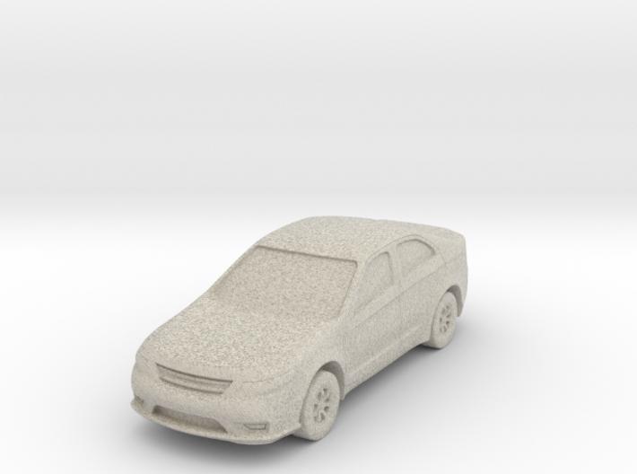 """Car at 1""""=8' Scale 3d printed"""
