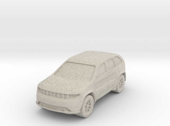 "SUV at 1""=8' Scale 3d printed"