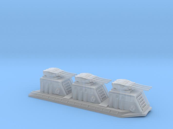 1/5000 Devastator Dorsal Turrets (single) 3d printed