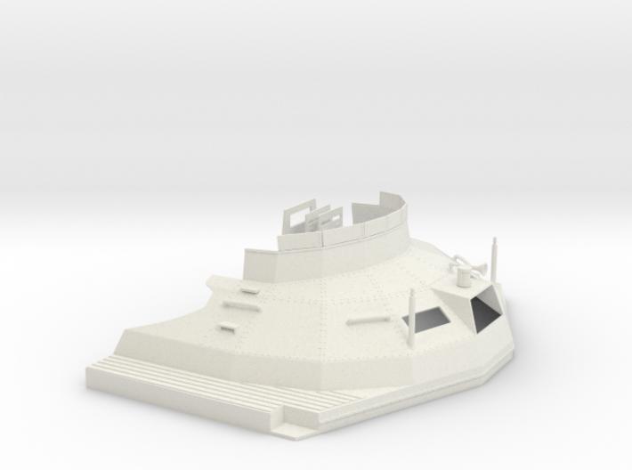 1/24 DKM Schnellboot S100 Skull Cap Bridge 3d printed