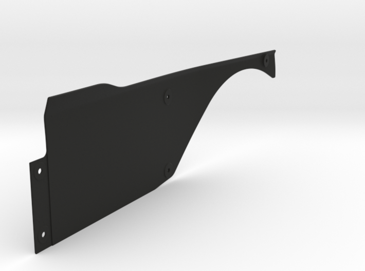Vanquish Ripper RIGHT Side Panel by SuperShafty 3d printed