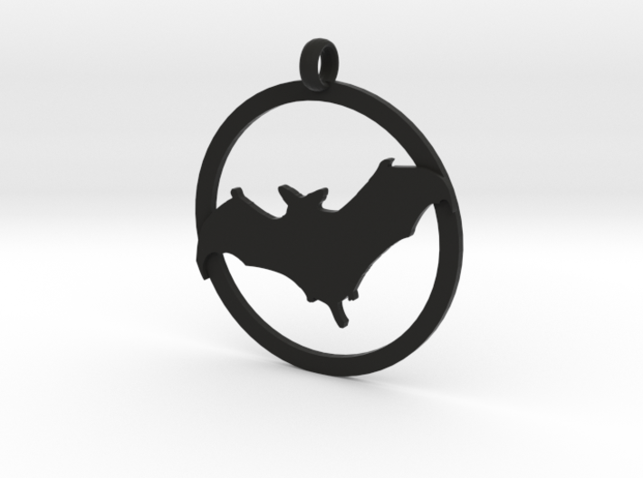 Bat awareness charm 3d printed