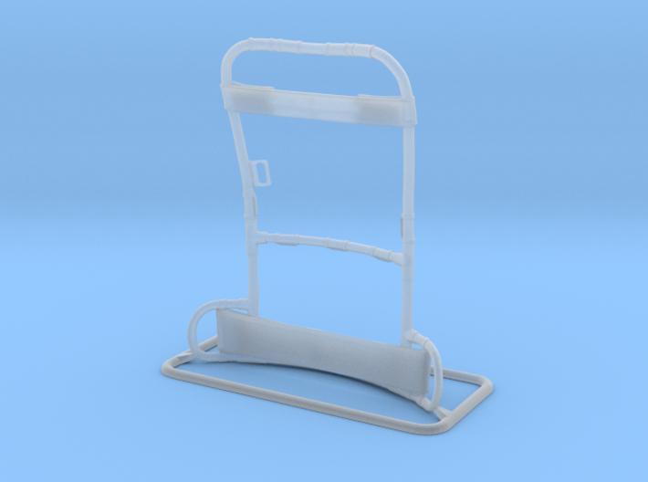 1:12 Scale Lightweight Rucksack Frame 3d printed
