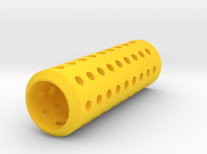 HMP Type III Muzzle (150mm) for Nerf Modulus 3d printed