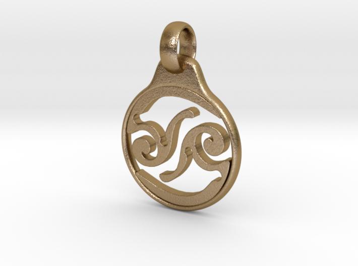 Aeon Tribe Logo Pendant 3d printed