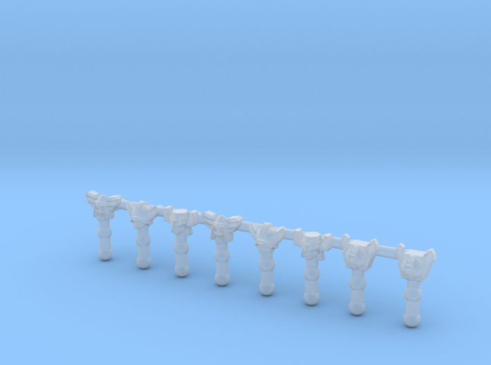 Acroyear + Kuwagatrer Heads for X2Toys AS001 Reser 3d printed