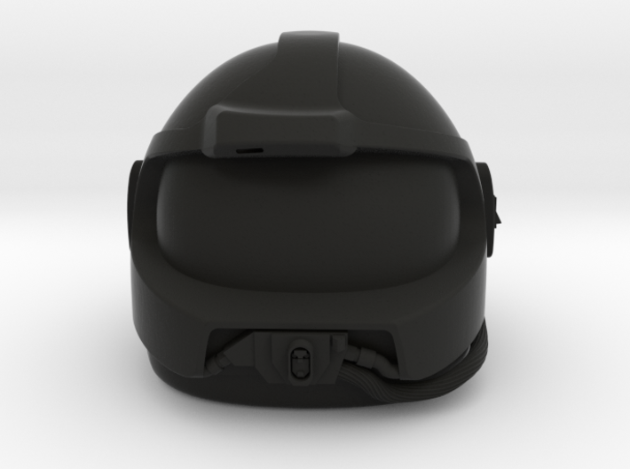 Airwolf Supercopter 3D Helmet 1/7 scale 3d printed