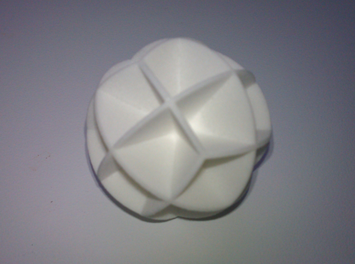 DRAW geo - sphere 24 cut outs 3d printed