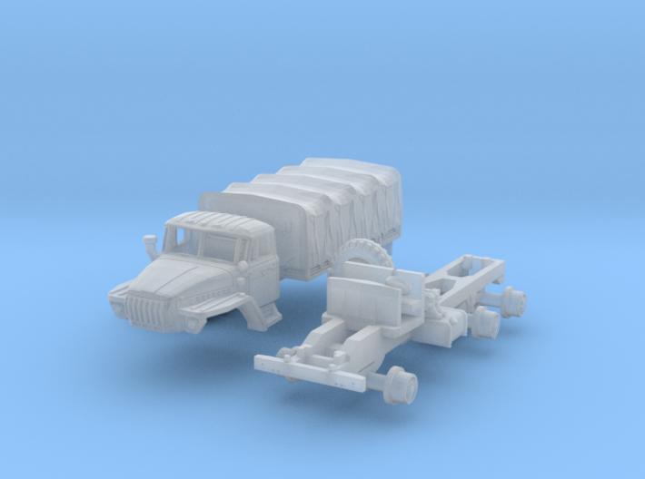 Ural-4320 (TT 1:120) 3d printed