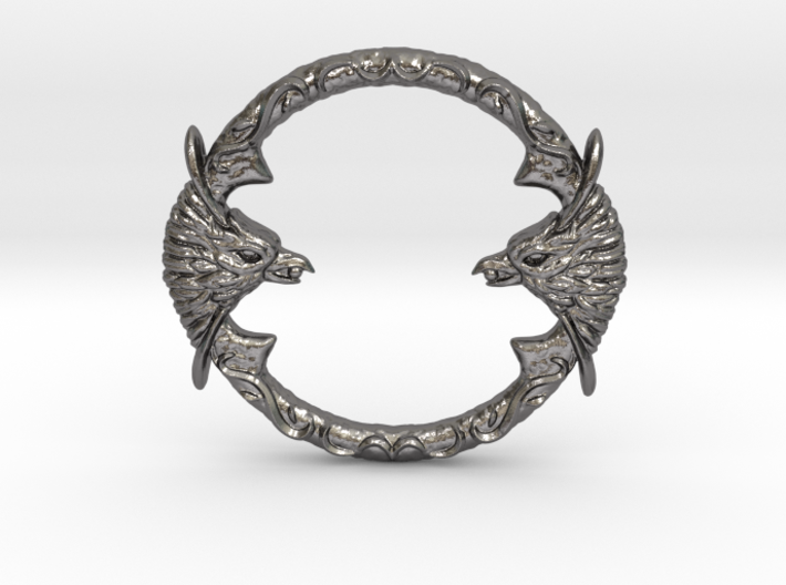 Resident Evil 0: Silver ring 3d printed