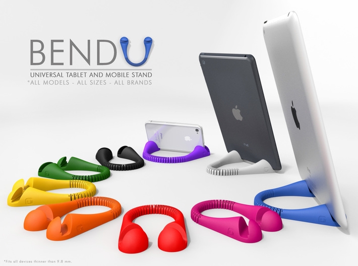 BendU - Universal Mobile Stand 3d printed BendU Stand in Multi Colors