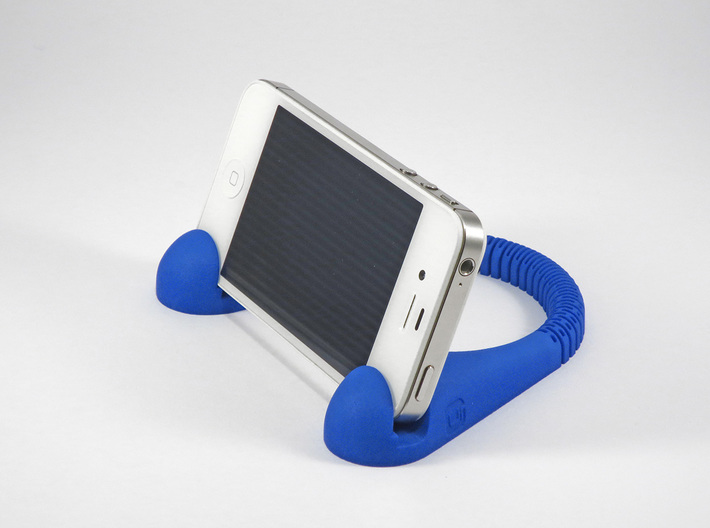 BendU - Universal Mobile Stand 3d printed Mobile Phone in Landscape Position