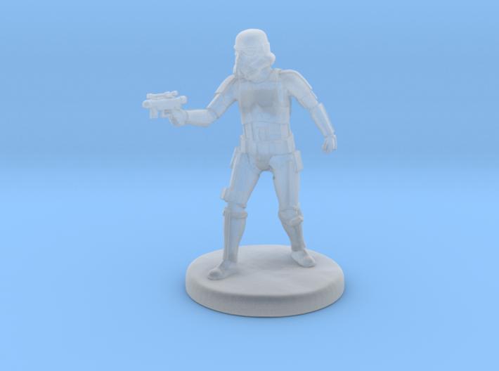 Storm Trooper Mini figure 001 3d printed