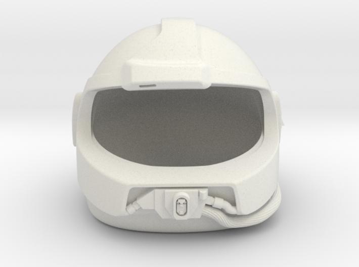 Airwolf Supercopter 3D Helmet 1/6 scale no visor 3d printed