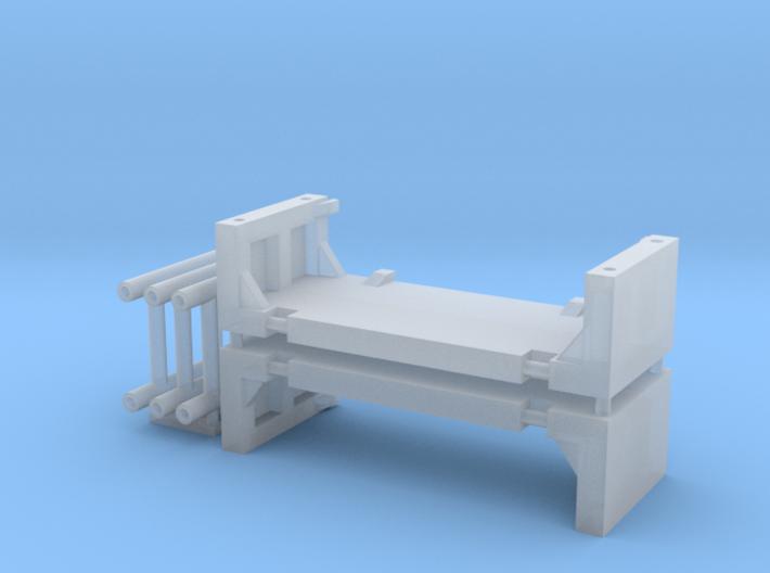 1:64 4Ft Manhole box extension 3d printed