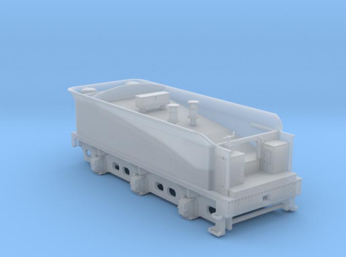 Caledonian 812 - Tender 3000 Gallon - Body 3d printed