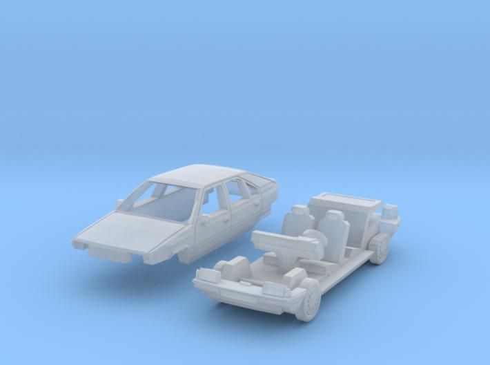Citroën BX (TT 1:120) 3d printed