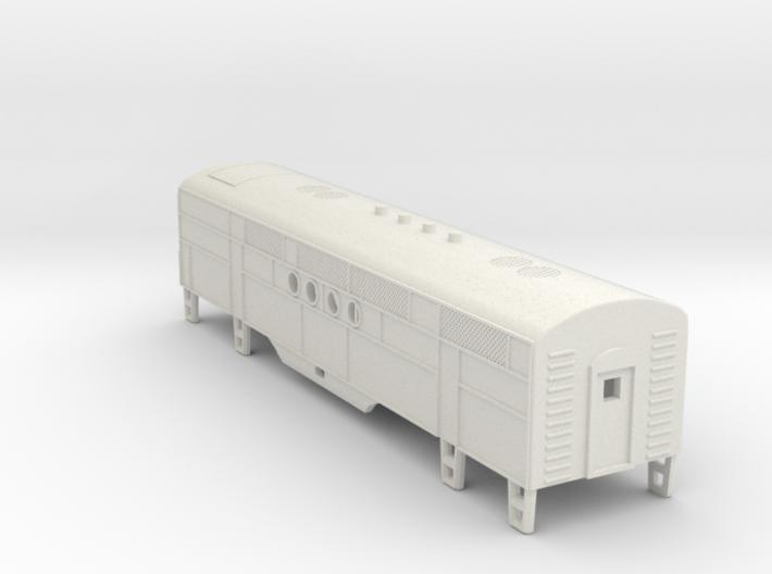 Z Scale EMC FT B-Unit Locomotive Shell 3d printed