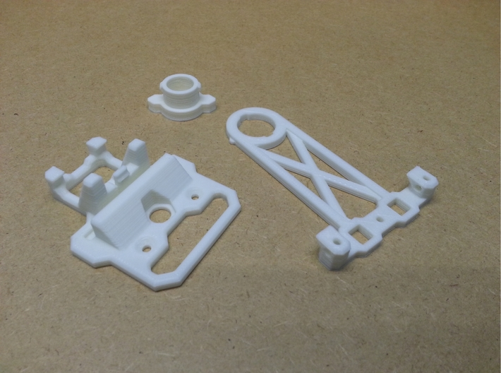 Stand For 140mm Tesla Flat Spiral Coils 3d printed Stand parts