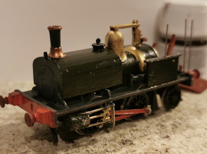 LBSCR Early Craven Tank #27 (0-4-2T) 3d printed