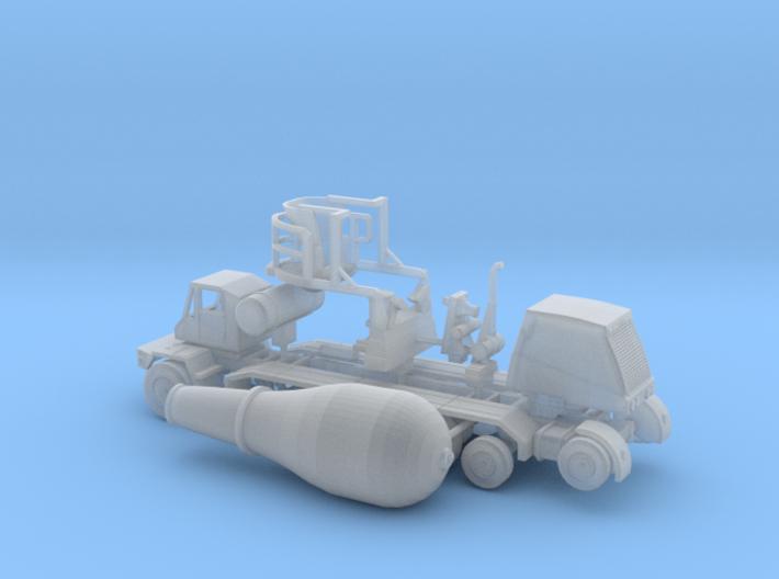 1/160 OshKosh Style Cement Mixer 3d printed