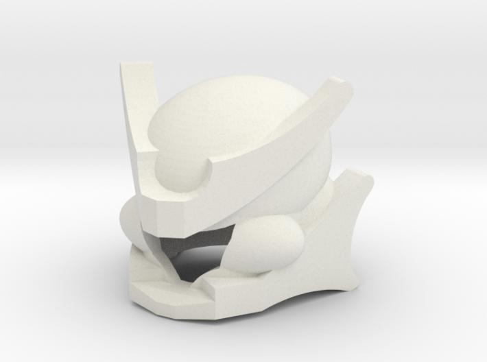 Robohelmet: Extinct Plator 3d printed