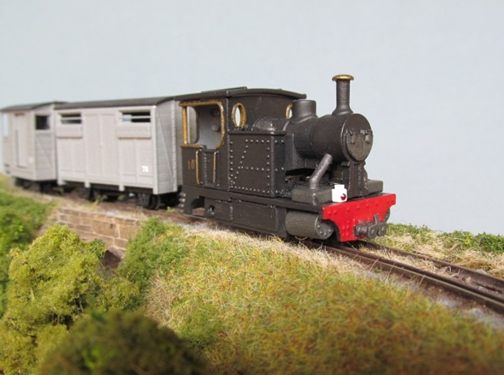 009 Fowler style Tram Engine 3d printed
