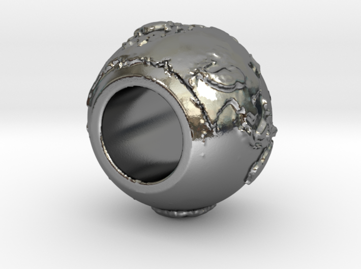 ring with land embossed around 3d printed
