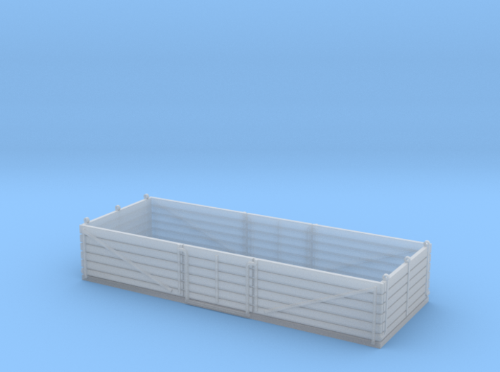 L&Y 6 plank fruit open wagon 3d printed