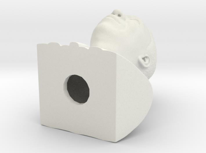 Pele bust  3d printed