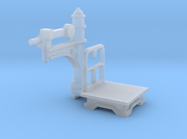 Bahnhofswaage (TT 1:120) 3d printed