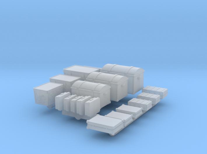 Gepäck (TT 1:120) 3d printed