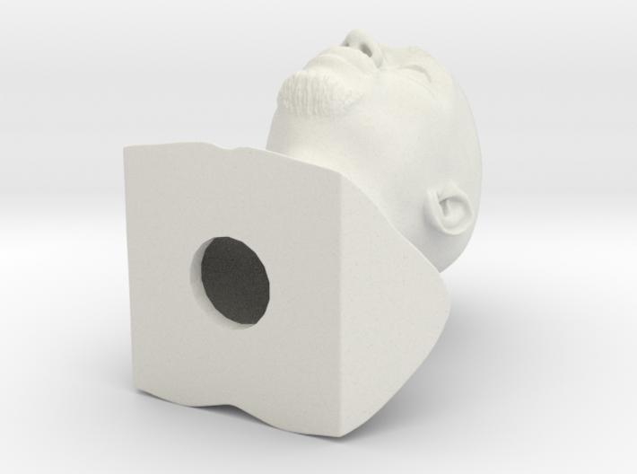 Tupac Shakur bust 3d printed