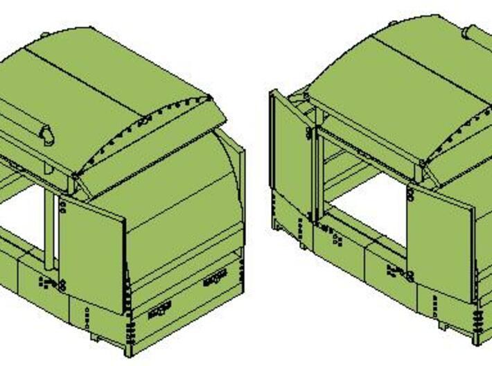 B-1-76-protected-simplex-both-doors-open-2 OO9 3d printed