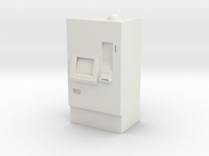 ATM Machine 1/56 3d printed