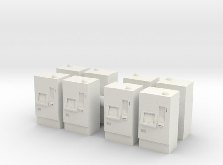 ATM Machine (x8) 1/144 3d printed