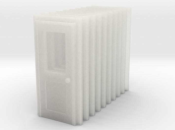 Door Type 3 X 10 RH  US N Scale 3d printed