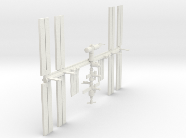 1/350 NASA International Space Station ISS 3d printed