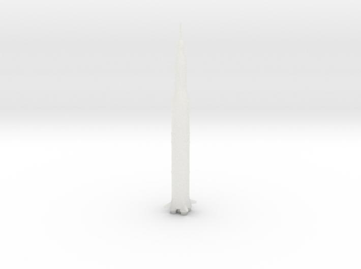1/537 NASA Saturn 5 Rocket 3d printed