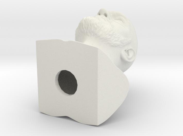 Tyson Fury bust 3d printed