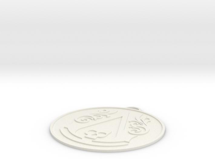 Assassins Creed - Black Flag Logo slim 3d printed