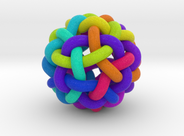 Knitball Color 3d printed