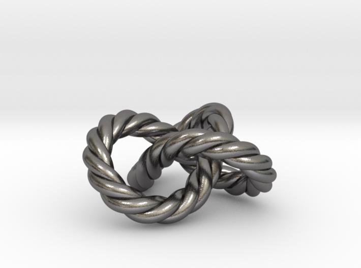 Braided Trefoil 3d printed