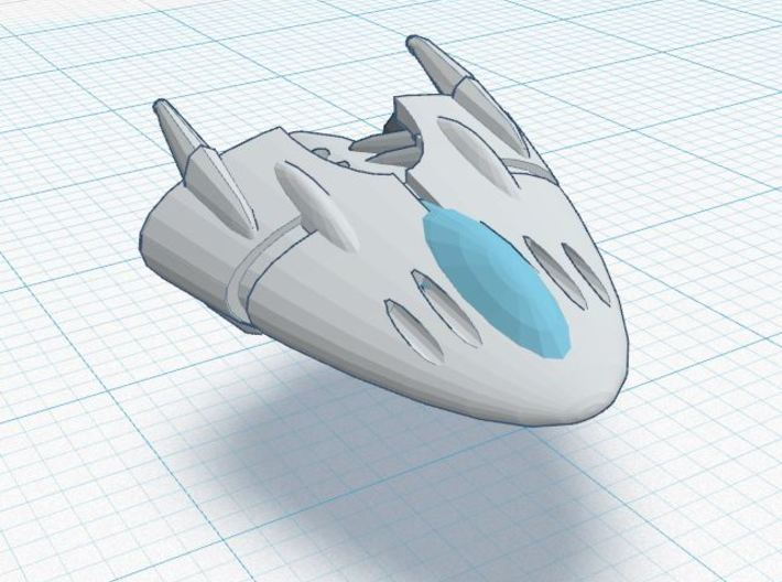 Slipstream 1-B Fighter Squadron (3) 3d printed detail render